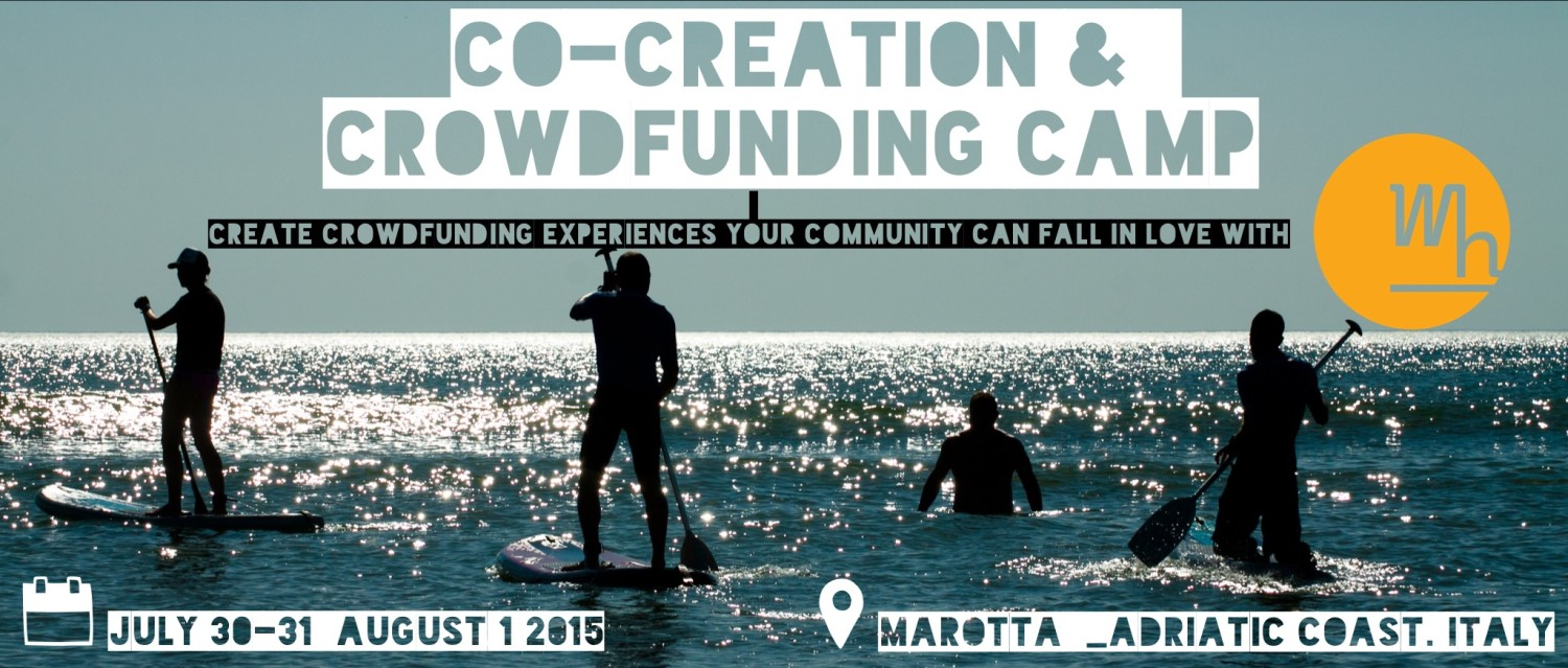 Warehouse crowdfunding camp