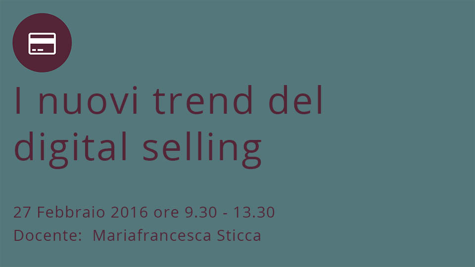 I nuovi trend del Digital Selling