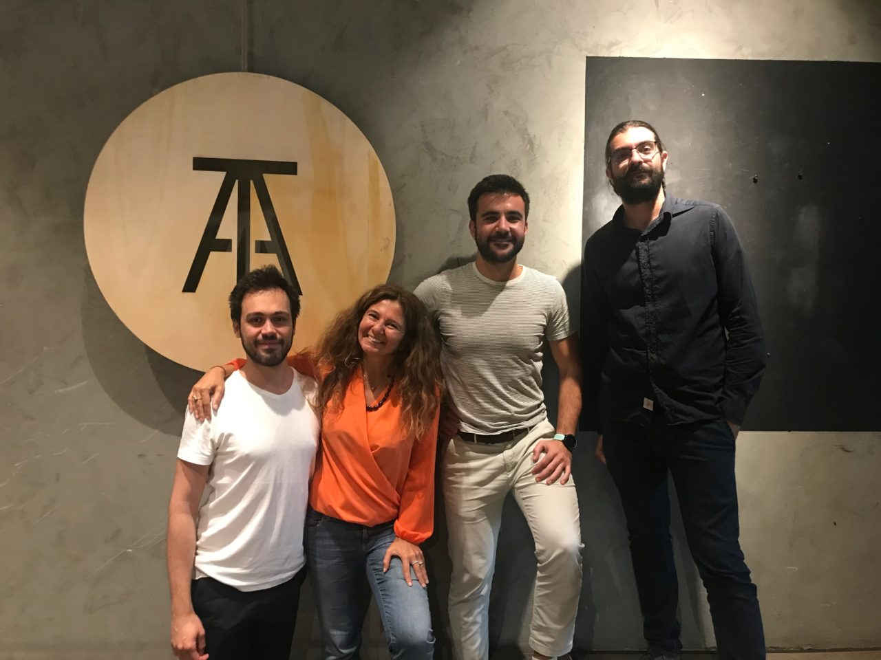 Warehouse Coworking Factory visiting Atolye (Istanbul, Turkey), October, 6-11, 2019