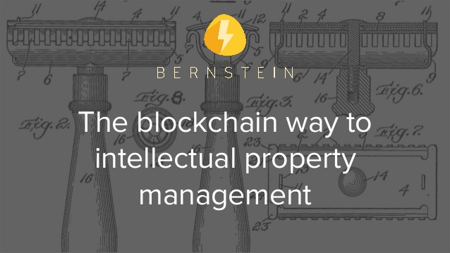 Warehouse partners with Bernstein,  the start-up offering  blockchain-based solutions for securing  intellectual property to creatives, innovators and companies
